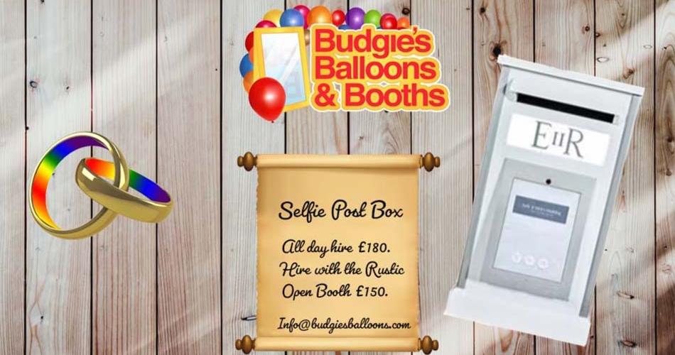 Image 1: Budgies Balloons