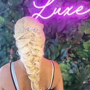 LUXE Hair. Beauty. Bridal
