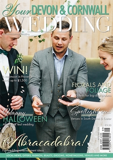 Cover of Your Devon & Cornwall Wedding, September/October 2021 issue