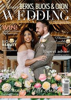 Cover of Your Berks, Bucks & Oxon Wedding, October/November 2021 issue