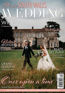 Cover of Your South Wales Wedding, September/October 2021 issue