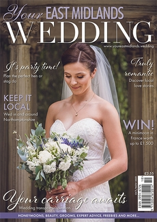 Cover of Your East Midlands Wedding, October/November 2021 issue