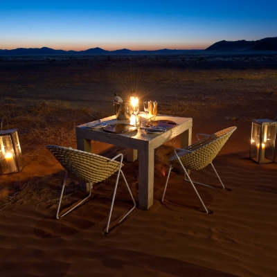 Little Kulala's enhanced dining experience – immersive, mindful and private
