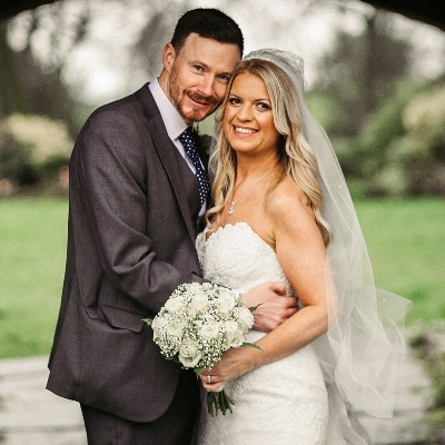 Nicola and Craig celebrated their love for each other at The Ashes Barns