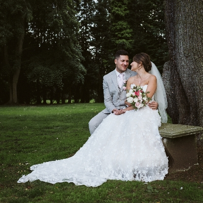 Martha and Daniel planned their big day at Macdonald Ansty Hall in just six weeks