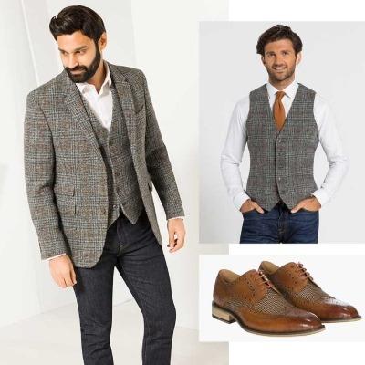 How to wear tweed, by Slater Menswear