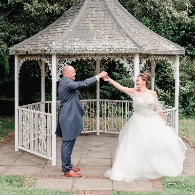 Alice and Nick had to move their wedding due to COVID-19 restrictions but still had the perfect day