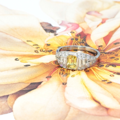With conscious consumerism on the rise, brides are charmed by The Vintage Ring Company