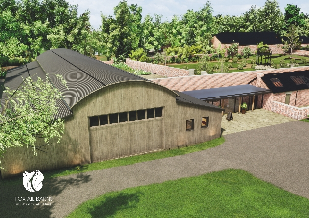 Get married at Foxtail Barns Wedding Venue from 2021