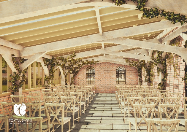 Get married at Foxtail Barns Wedding Venue