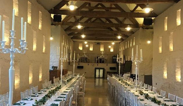 Dance the night away at the 18th-century Grendon Court Barn