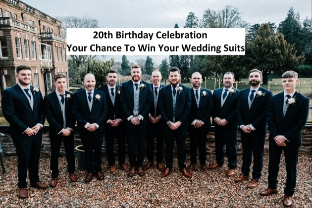 Menswear company, Bill Child Formal Wear has launched a new competition
