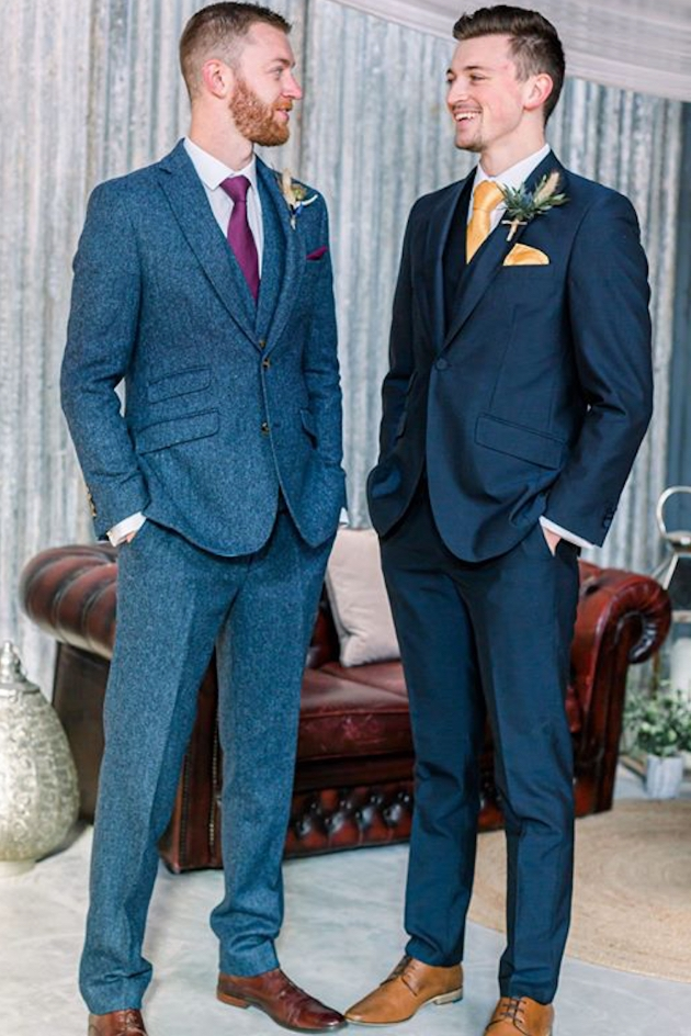 How to choose a festive look for the groomsmen