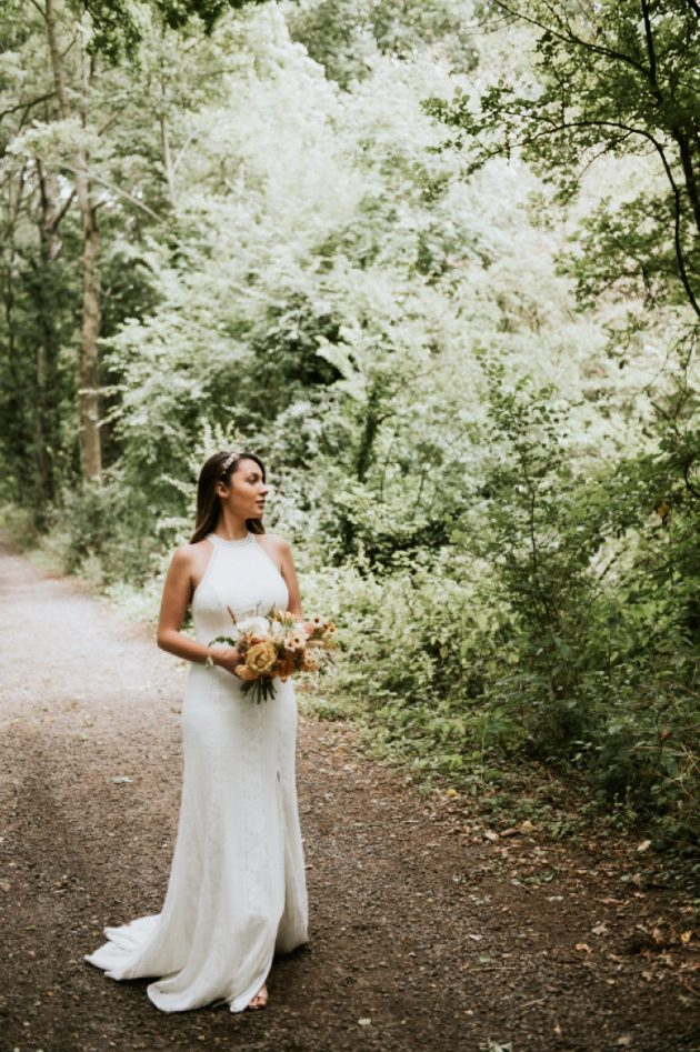 Wedding dress expert, Jennifer Jamieson gives her top tips for creating a boho look