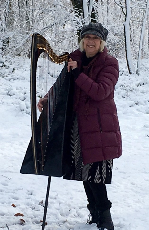 Find out more about local harpist, Helen Barley