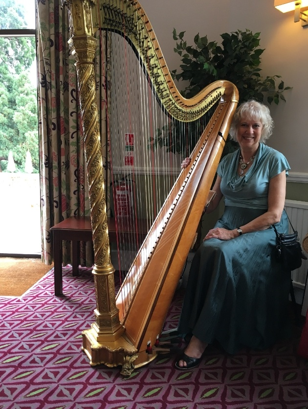 The benefits of hiring a harpist for your wedding