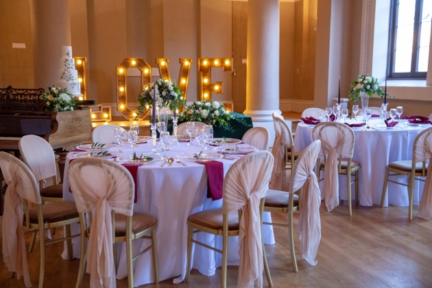 The Lion Ballroom is a new wedding venue in Leominster