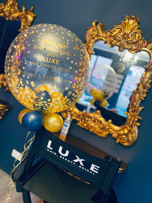 LUXE Hair. Beauty. Bridal has been listed as a finalist at the UK Hair & Beauty Awards
