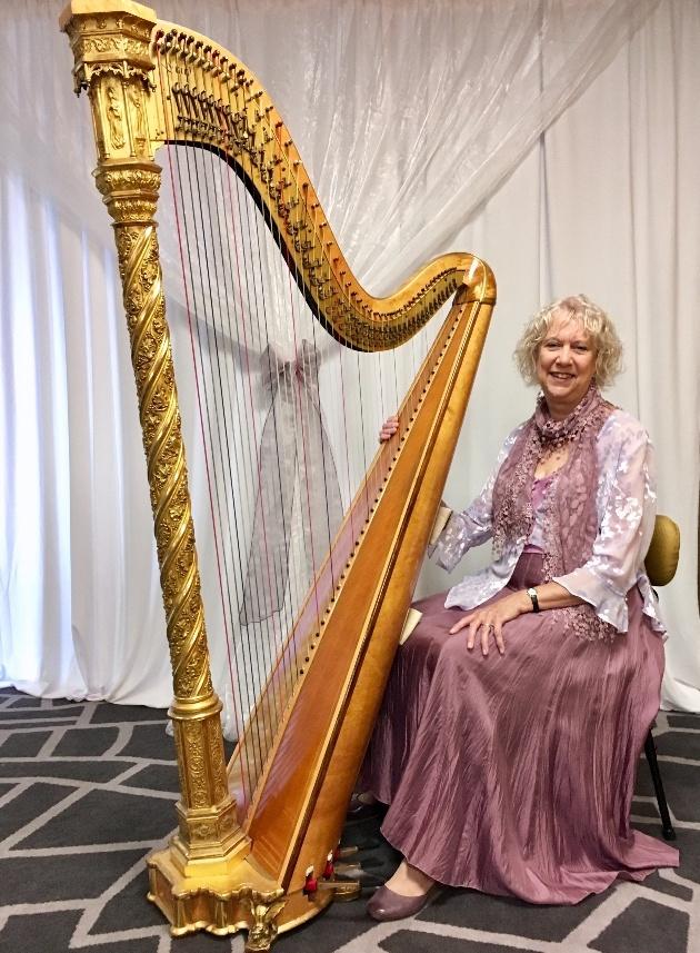 We interview harpist, Helen Barley
