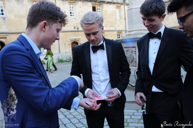 We interview magician, Angus Baskerville