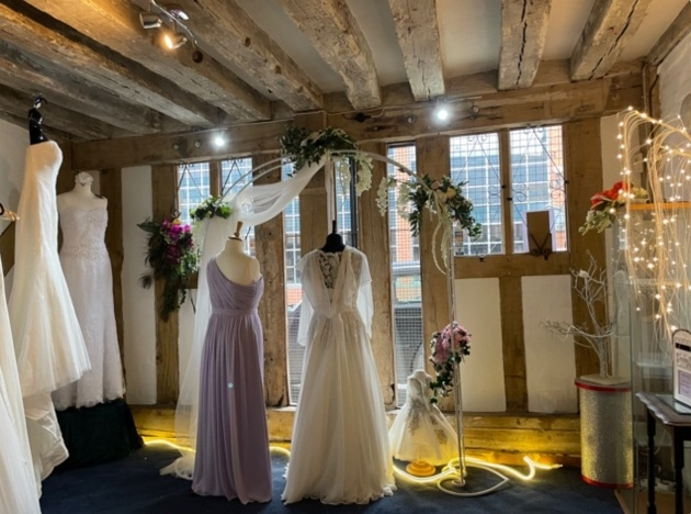 We interviewed Coventry-based bridal boutique, Dragontail & Rose