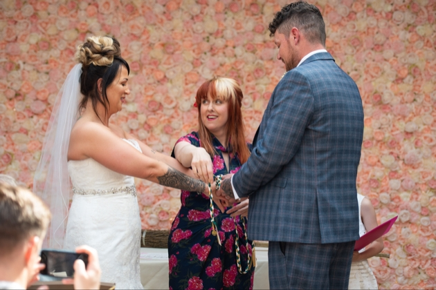 Local celebrant Jess May from Jess May's Special Days has been nominated for several awards