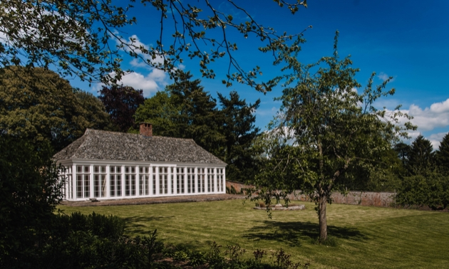 The Victorian orangery at Pitchford Hall in Shropshire has recently opened its doors