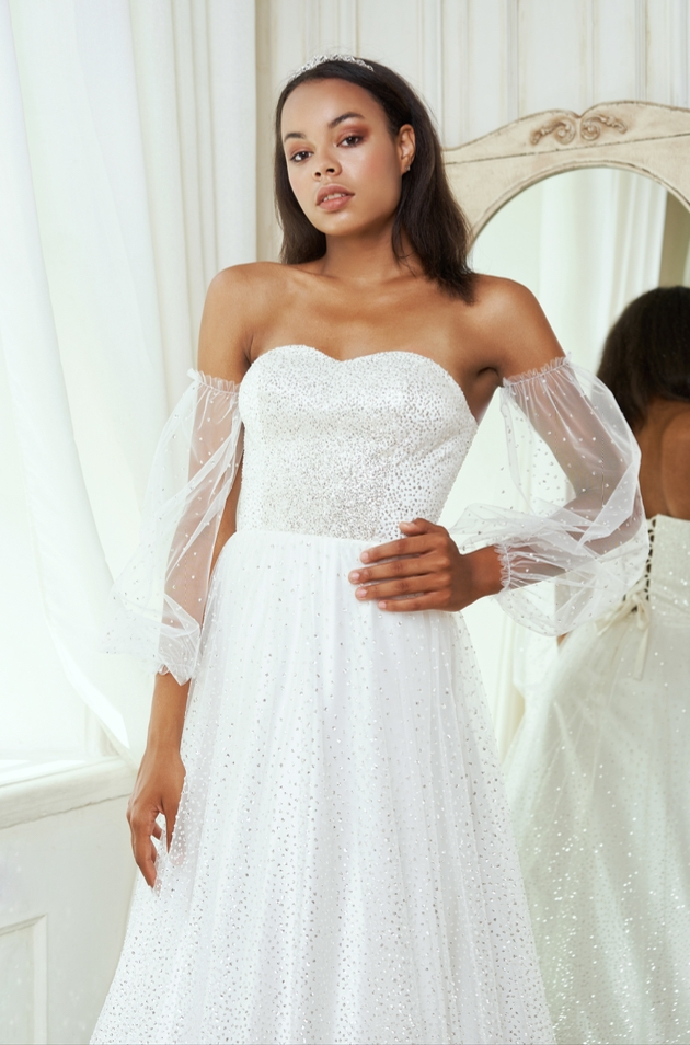 The latest colours and looks for summer brides