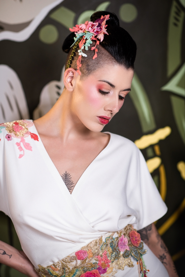 Alternative ideas for your wedding hair and make-up