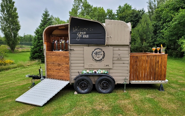 Your Bar is offering free hire of the fully stocked horsebox bar, including two bar staff
